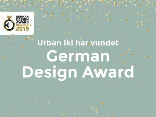 nt:Vi har noget at fejre med jer! Vi er taknemmelige og stolte over at vinde German Design Award 2019. Det havde ikke været muligt at vinde denne prestigefyldte designpris foruden jeres støtte – tusinde tak! #dutchdesign #fromjapan #urbaniki #foryoutodiscover #GermandDesignAward2019  …